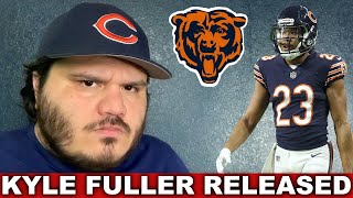 Chicago Bears Release Kyle Fuller   Allen Robinson Signs Tag