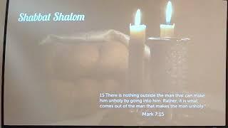 Shabbat Sermon - February 2, 2019