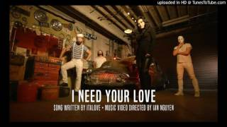 Italove & Tq- I Need Your Love (Extended) [Italo Disco 2016]