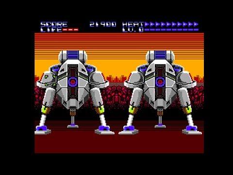 Sega Master System Longplay - Assault City (1990) Sega