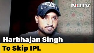After Raina, Harbhajan Singh Pulls Out Of IPL, Says Personal Reasons  IMAGES, GIF, ANIMATED GIF, WALLPAPER, STICKER FOR WHATSAPP & FACEBOOK