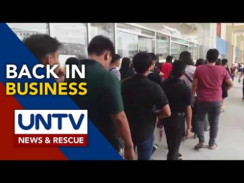 [UNTV]  DOLE to probe labor practice of security agency, mall management