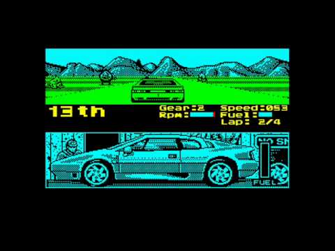 Lotus Esprit Turbo Challenge ZX Spectrum