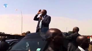 Give me time to work, Uhuru tells Raila - VIDEO
