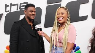The Voice: DeAndre Nico On Singing For The LADIES & Having J-Hud As A Fan! 😏