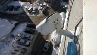 Видеонаблюдение за машиной