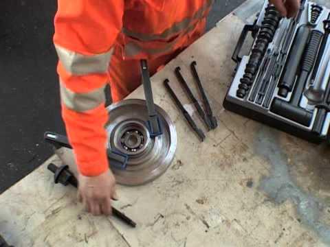 Kit montaje y desmontaje Rodamientos MK10-30 Simatool