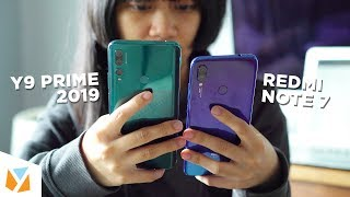 Huawei Y9 Prime (2019) vs Xiaomi Redmi Note 7 Comparison Review