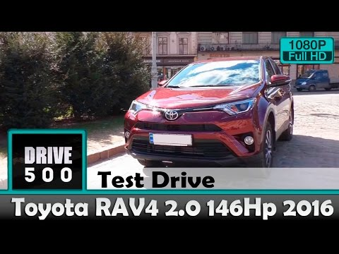 Toyota  Rav 4 Паркетник класса J - тест-драйв 2