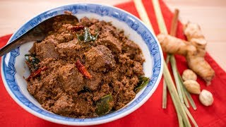 Beef Rendang Recipe - Pais Kitchen | Malaysian / Indonesian Recipe