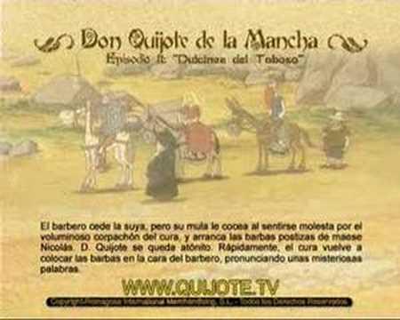 Videocuento Epis.#11 Resumen DON QUIJOTE DE LA MANCHA (1979) - QUIXOTE