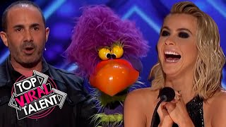 The Judges LOVE These ANIMAL PUPPET Acts That YOU GOTTA SEE!