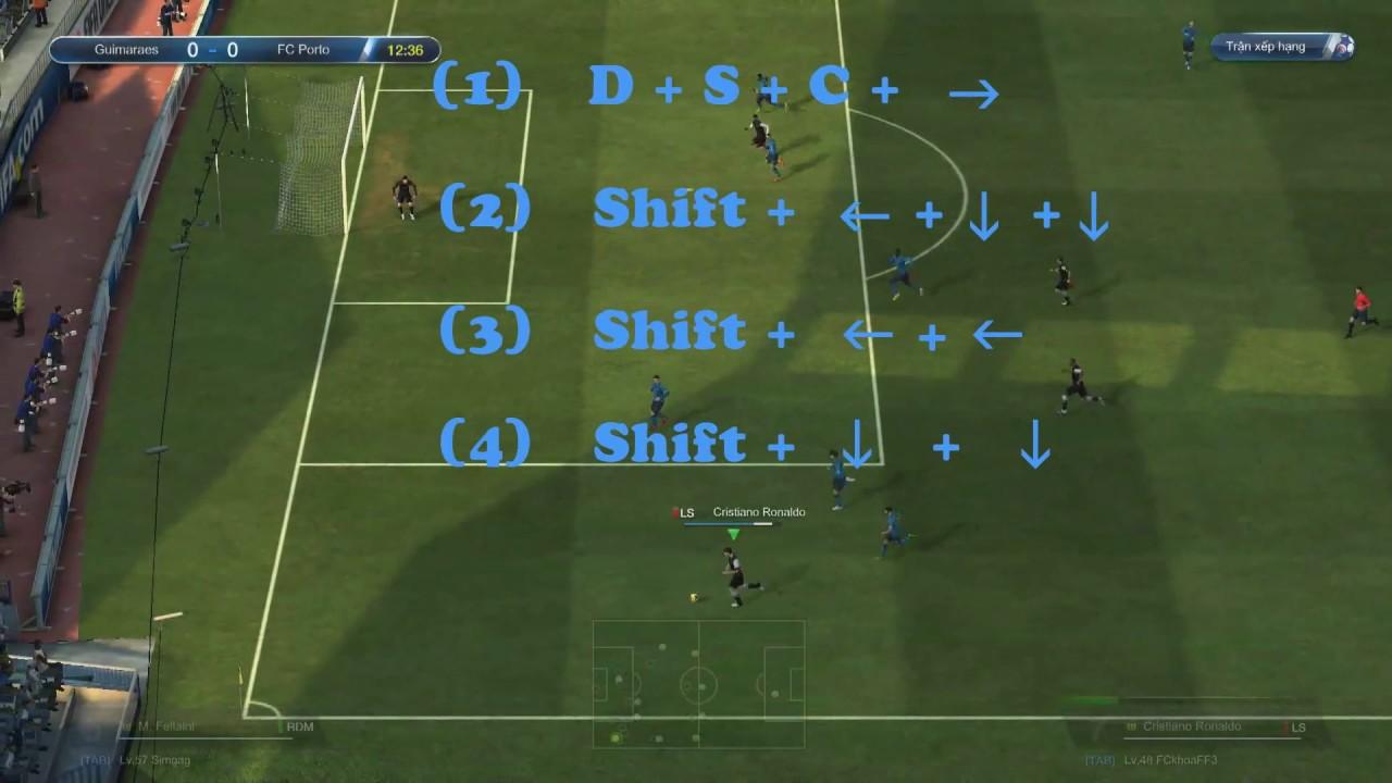 Hướng dẫn skill qua người trong  FIFA Online 3