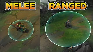 HOW TO WIN AS MELEE VS RANGED (Challenger Tips & Tricks)