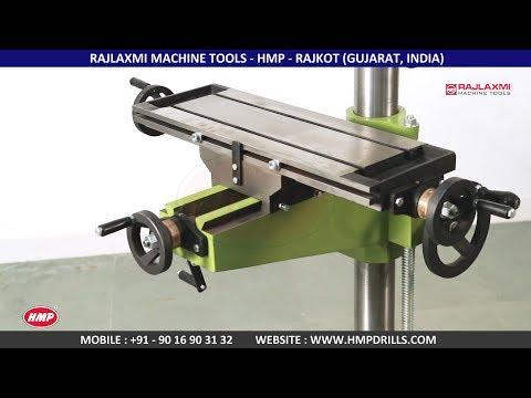 HMP-26A (Drilling Cum Milling Machine) (Key Way Attachment)