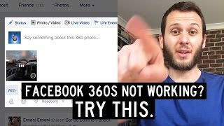 How To Fix Facebook Not Recognising Your 360 Photo