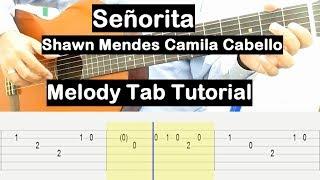 senorita guitar tabs fingerstyle tutorial - TH-Clip