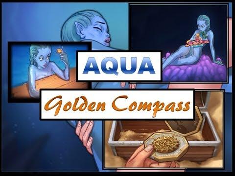 Summertime Saga Aqua & Golden Compass   Complete Walkthrough