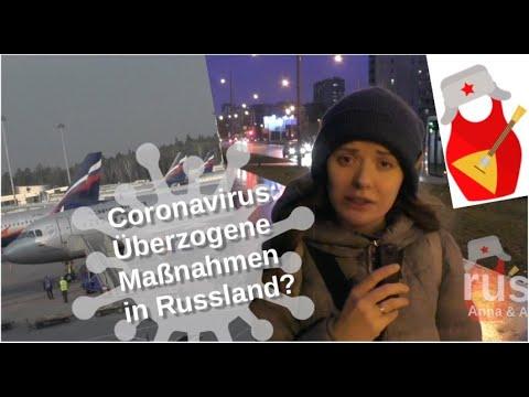Coronavirus: Überzogene Maßnahmen in Russland? [Video]