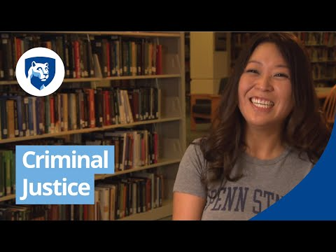 Criminal justice degree