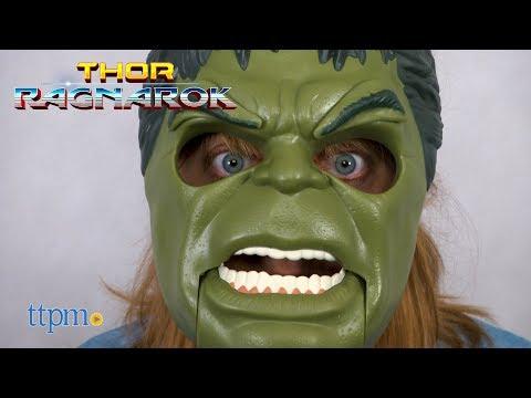 Thor Ragnarok Hulk Out Mask from Hasbro
