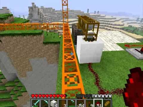 Различные механизмы в Minecraft - 24 серия