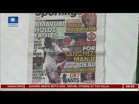 Review: Wasteful Eagles Held Down By Amavubi |Sports This Morning|