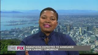 President Ramaphosa expected to announce new cabinet tomorrow