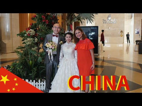 I was Invited to a Chinese Wedding | TRADITIONAL CHINESE WEDDING (видео)