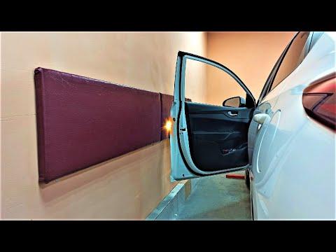Показываю, как доработал гараж! Как защитить двери автомобиля от сколов?