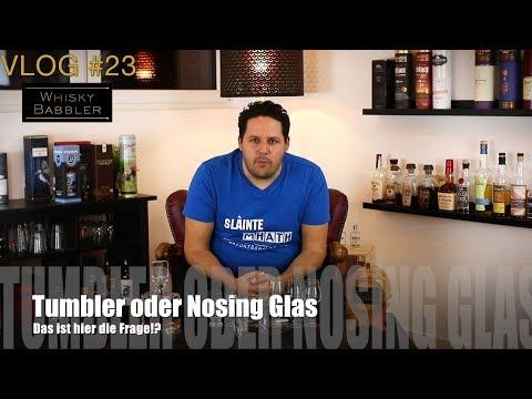 Tumbler oder Nosing Glas