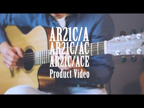 Демонстрация звучания акустических гитар Baton Rouge из серии AR21C