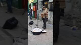 The Best Street Performer In Galway, Ireland