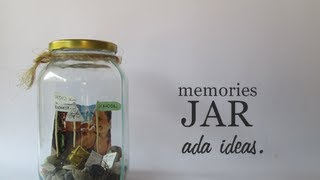 DIY Memories Jar