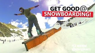 #22 Snowboard intermediate – How to get better at snowboarding