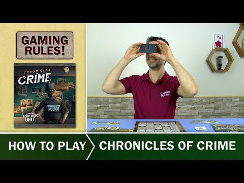 Chronicles of Crime  - Official How-to-Play video from Gaming Rules!