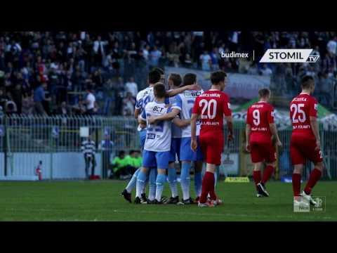Bramki z meczu Stomil Olsztyn - Wisła Puławy 3:2