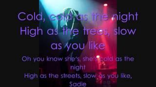 Suede - Sadie Lyrics