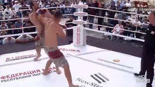 Олег Попов vs Адам Богатырев highlights, M-1 Challenge 95