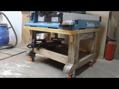 Тумба под Makita 2704 Mobile Table Saw Station