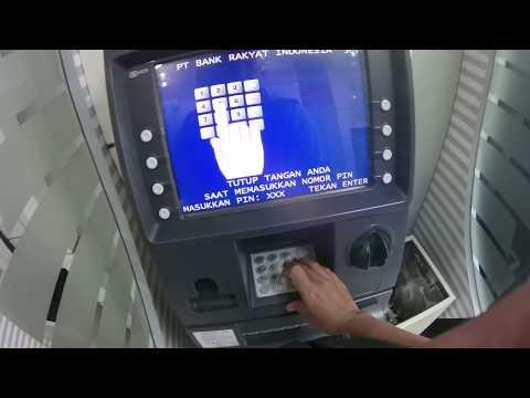 Video Begini caranya, top up Go-Pay Go-jek di ATM BANK BRI