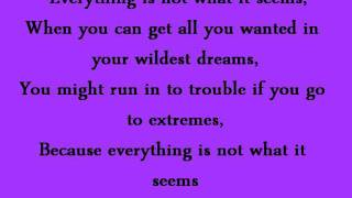Everything Is Not What It Seems - Selena Gomez - Lyrics