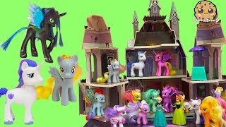 My Little Pony Princess Cadance, Shining Armor, Derpy, Queen Chrysalis Party with Queen Elsa