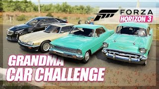 Forza Horizon 3 - Grandma Car Challenge! (Build & Slow Driving)