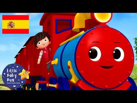 Canciones Infantiles   Chu Chu Tren   Dibujos Animados   Little Baby Bum en Español
