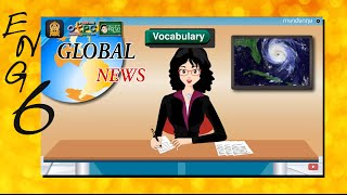 สื่อการเรียนการสอน Natural Disasterป.6ภาษาอังกฤษ