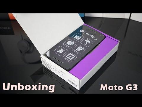 Unboxing Moto G3 Geração 4G 16GB