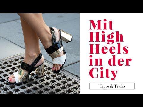 MIT HIGH HEELS DURCH DIE STADT - so meisterst du Kopfsteinpflaster & Co.