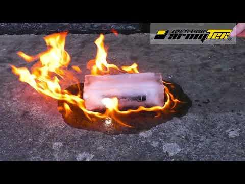 Testasimme Armytek Wizardin kestävyyttä tulessa, vedessä, jäässä ja jopa auton yliajamana
