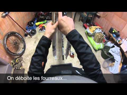 comment regler fourche rock shox